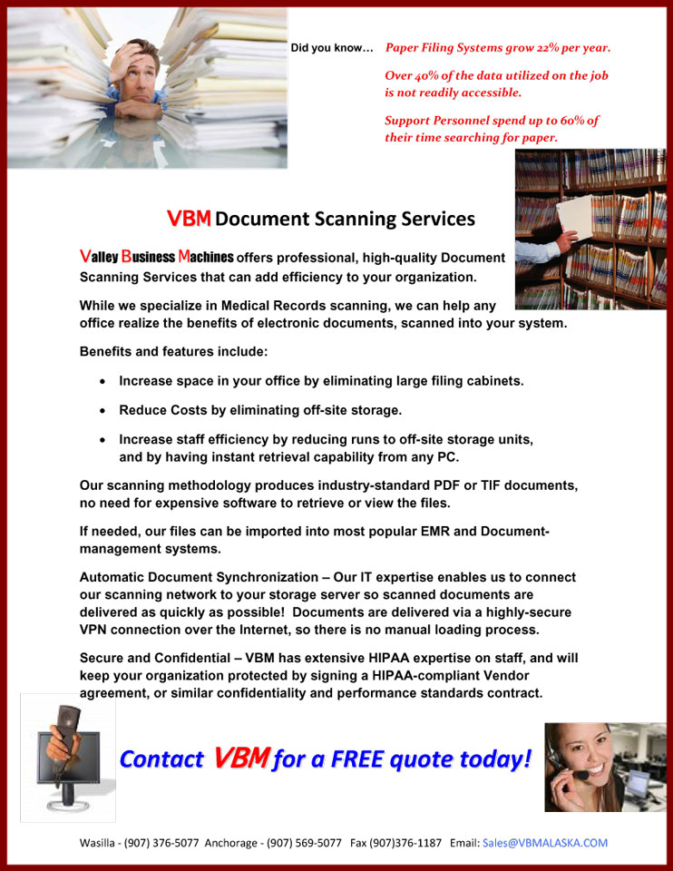 High Quality confidential medical record scanning
